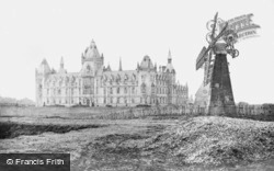 Royal Victoria Patriotic Building And ''black Sea'' Windmill c.1880, Wandsworth
