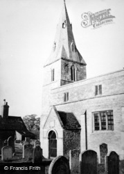 Wansford, Church c.1950