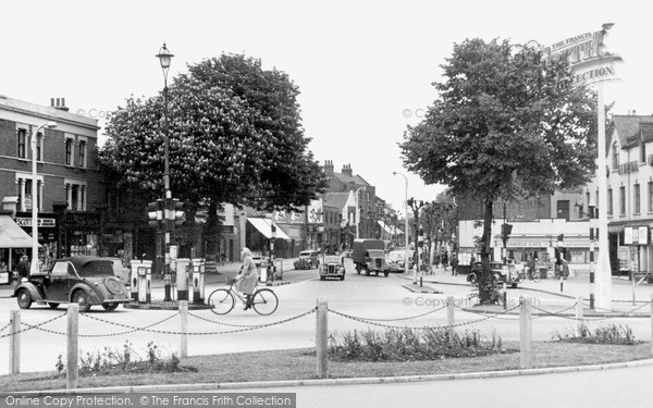 Photo of Wanstead, High Road c1955, ref. W22038