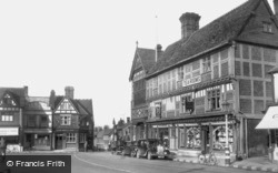 The Square And Town Hall c.1950, Wantage