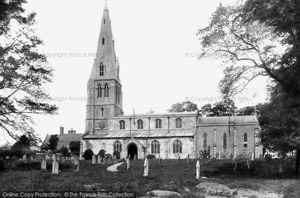 Photo of Warboys, St Mary Magdalene's Church 1898