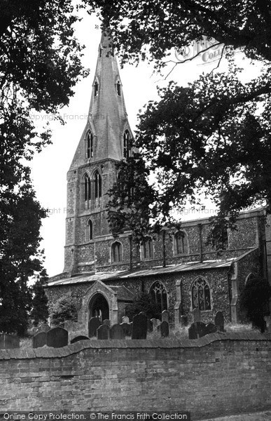 Photo of Warboys, St Mary Magdalene's Church c.1955
