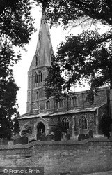 Warboys, St Mary Magdalene's Church c.1955