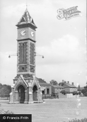 Warboys, The Jublilee Clock c.1955