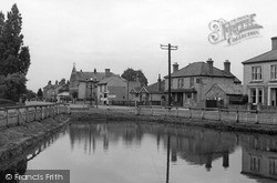 Weir And High Street c.1955, Warboys