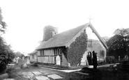 Warburton, Old Church 1897