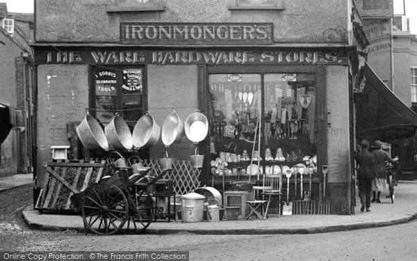 Ware, The Ware Hardware Stores 1925
