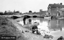 Salmon Fishing 1957, Wareham