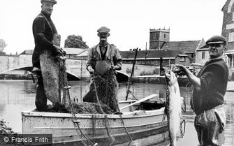 Wareham, Salmon Fishing c1960
