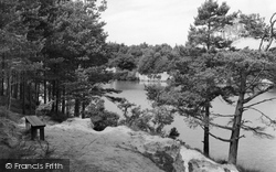 Wareham, The Blue Pool c.1961