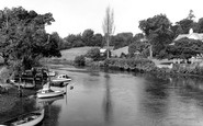 Wareham, the River Frome c1960