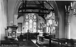 Wargrave, Church Interior 1890