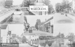 Wargrave, Composite c.1955