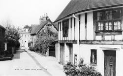 Wargrave, Ferry Lane c.1960