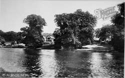 Wargrave, From Above Ferry 1890