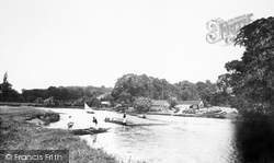 Wargrave, From Near Ferry 1890