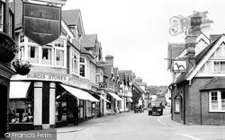 Wargrave, High Street 1950