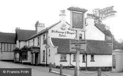 Wargrave, St George And Dragon Hotel c.1955