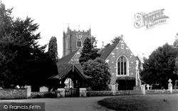 Wargrave, St Mary's Church c.1955