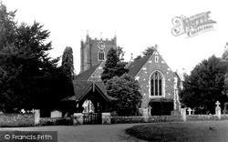 Wargrave, St Mary's Church c.1955