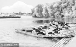 Wargrave, The River c.1960