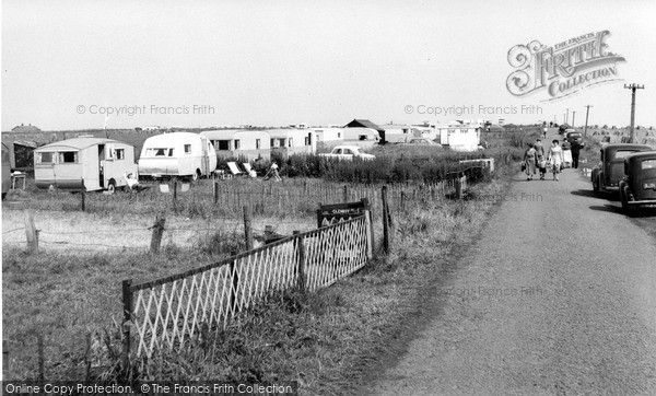 Photo of Warkworth, Beach Road c1960, ref. W391036