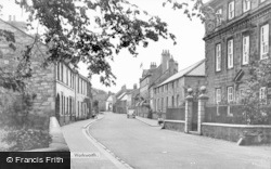 Bridge Street c.1955, Warkworth