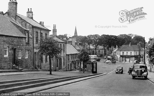 Photo of Warkworth, Castle Street c1955, ref. W391025