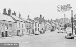 Warkworth, Castle Street c.1960