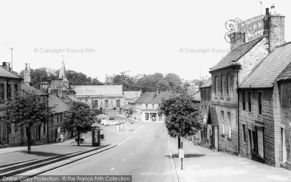 Photo of Warkworth, Castle Street c.1965