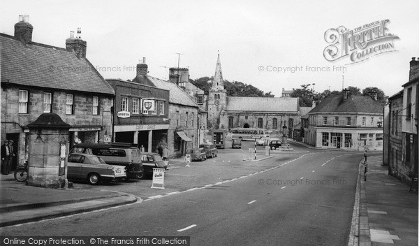 Photo of Warkworth, Castle Street c.1965