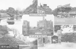 Warkworth, Composite c.1965