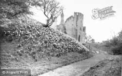 Daffodil Time At The Castle c.1960, Warkworth