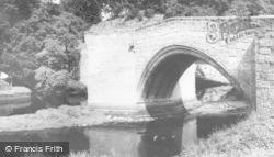 Fourteenth Century Bridge c.1965, Warkworth
