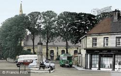 Market Place c.1955, Warkworth