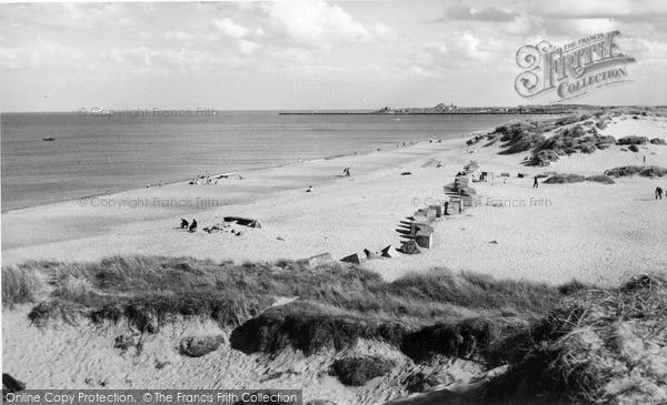 Photo of Warkworth, the Beach c1960, ref. W391047