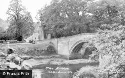 The Bridge c.1955, Warkworth