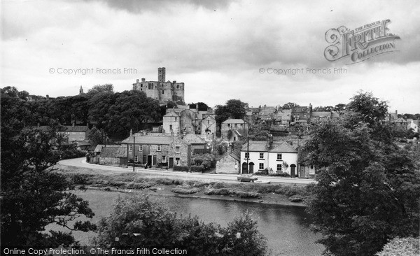 Photo of Warkworth, the Butts and Castle c1965, ref. W391078