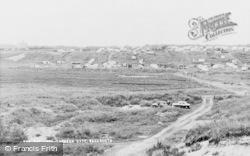 Warkworth, The Caravan Site c.1960
