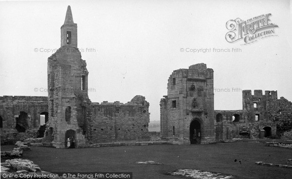 Photo of Warkworth, the Castle c1955, ref. W391010