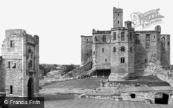 The Castle c.1955, Warkworth