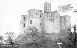 The Castle c.1965, Warkworth