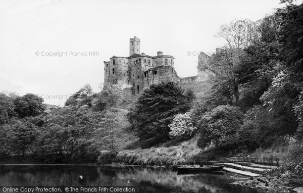 Photo of Warkworth, the Castle c1965, ref. W391060