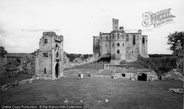 Photo of Warkworth, the Castle c1965, ref. W391086