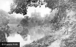 The Castle From Mill Walk c.1955, Warkworth