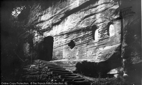 Photo of Warkworth, the Hermitage c1965, ref. W391070