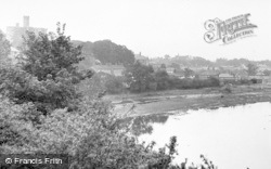 The Village From Amble Road c.1955, Warkworth