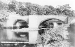 Warkworth, Xiv Century Bridge c.1965