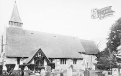 All Saints Church c.1955, Warlingham