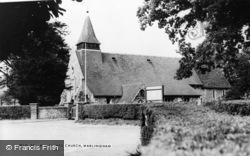 All Saints Church c.1960, Warlingham